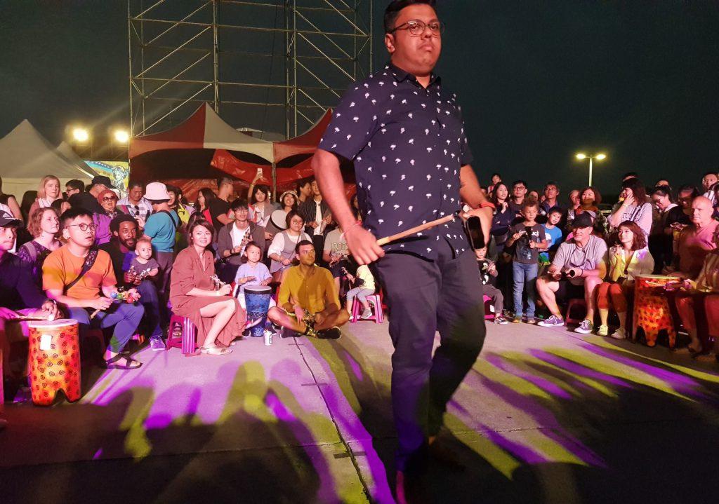 Taiwan World Music Festival Drum Circle